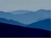 Mountain tops pyrenees