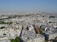 Paris City from Eiffel Tower
