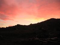 sunset silouet 2