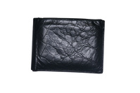 Isolated black wallet
