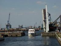 Rotterdam port / Drawbridge