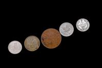 Various vintage coins