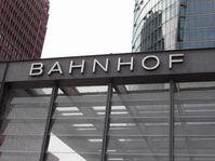 bahnhof german train station c