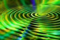green ripple