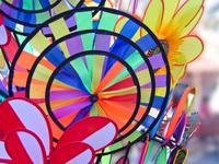 colorful windmills 3