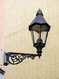 decorative historic street lamp