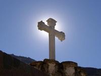 sunburst cross