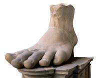 Constantine's foot