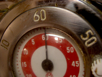 Old Stove Dial