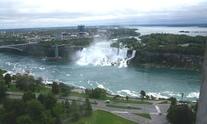 Niagara Falls seen from above 2