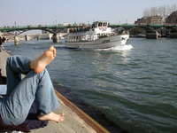 Paris - edge of Seine01