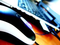 Laptop & Mouse