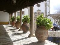 Obidos Flowerpots