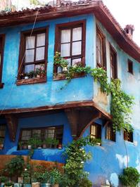 Blue Ottoman House