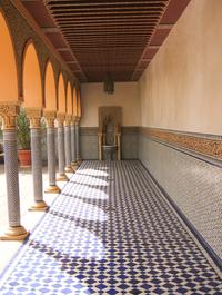 oriental archway