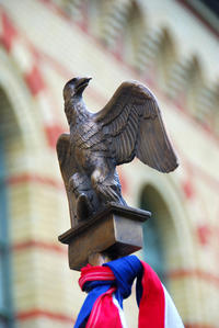 Eagle from napoleonic army banner 2