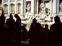 Trevi Fountain Rome Italy 4