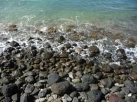 Shore and rocks near Front Street in Lahaina