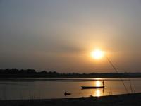 Rapti river sunset