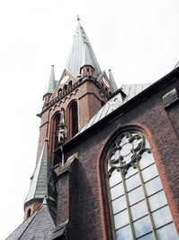 neogothic church in Gladbeck
