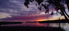Sunrise at Mannum, South Austr