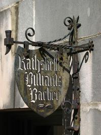 Rathskeller sign