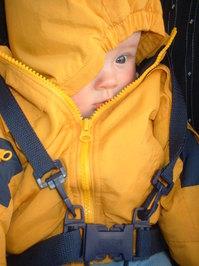 Ali in a coat
