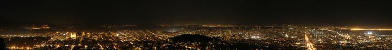 Nighttime in San Francisco