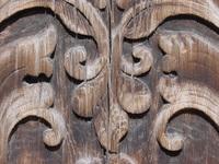 wooden close up of ancient sweden door