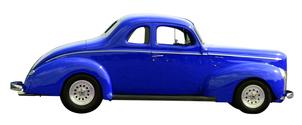Classic Car - Blue