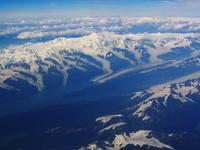 Snowey Alaskan Mountain Range
