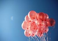 Pink balloons 1