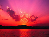 sun of evening