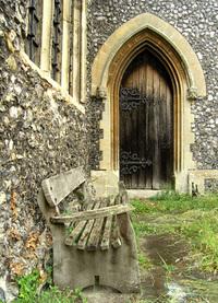 old church-detail