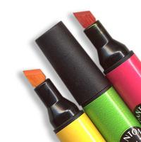 Pantone colour markers