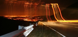 Glossop Night Skyline