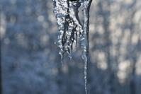 frozen water and sun