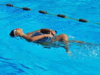 kids on swimming