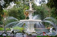 Savannah Forsyth Park Fountain 5