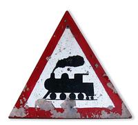 beware of train