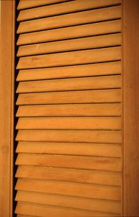Brown Wooden Shutter