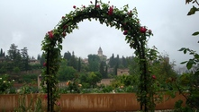towards the Alhambra