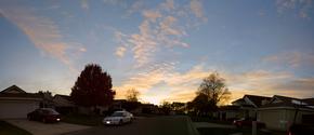 A Nice Neighborhood Sunset