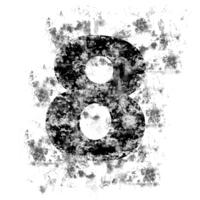 DistressedDigits 8