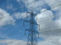 Electricity pylon, landscape
