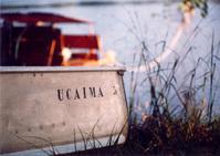 Boat at Canaima Park