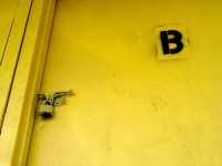 Locked B Door