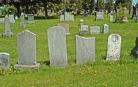 Blank Gravestones