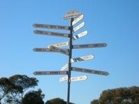 WA SA Border Signs