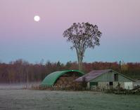 daybreak on rural Ontario